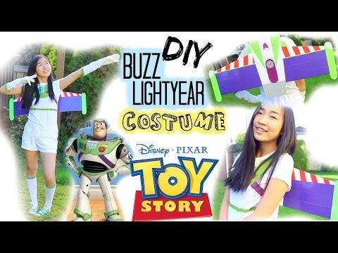 DIY: Buzz Lightyear Halloween Costume