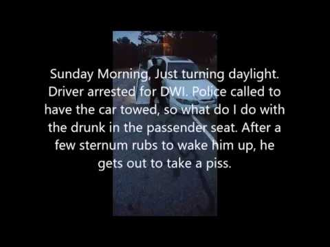 Dealing With Drunk Passenger (Caution Strong Language)