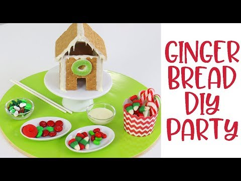 The EASIEST Gingerbread Houses to DIY with the Kids this Christmas!