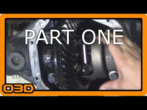 Rear Axle Upgrades and Diff School - Part One - Stock Removal, Gear Oil, and Wear