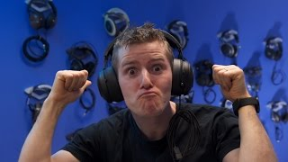 An ENTIRE WALL of Headphones!! - Office Upgrade Vlog