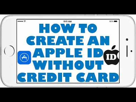 How To Create An Apple ID/ iCloud ID Without Credit Card Or Computer