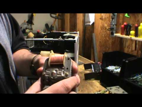 How to scrap a rangetop microwave for copper, silver, aluminum and easy money!