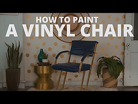 How to Spray Paint Vinyl - HGTV