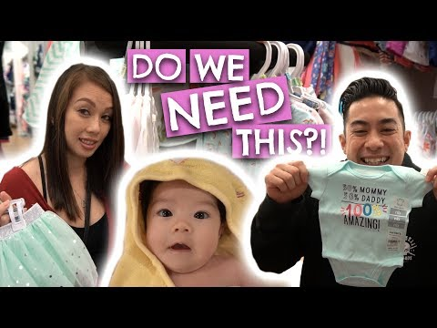 Buying Baby Clothes with $40!