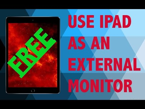 How To Use iPad As An External Monitor (FREE)