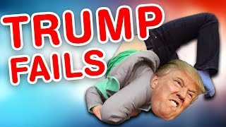 Trump Fails | Funny Trump Compilation