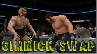 WWE 2K16 | Gimmick Swap w/ Seth Rollins & Andrè the Giant