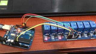 Relays with Arduino Turning on the Lights Mains