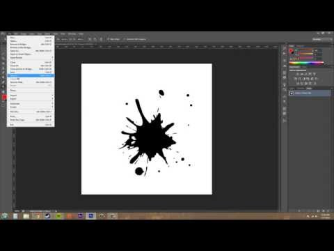 Photoshop CS6 Tutorial - 165 - Exporting Paths to Illustrator
