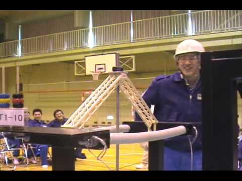 11th Annual Toothpick Bridge Contest