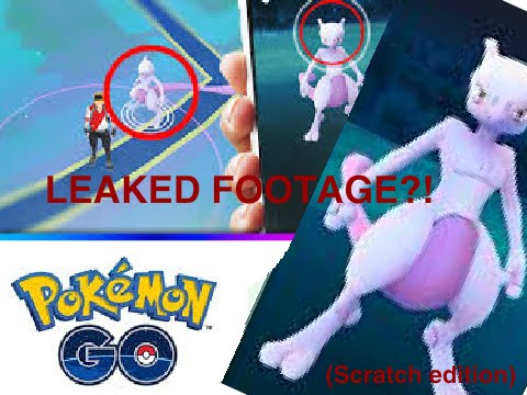 Pokemon GO Early Footage (Scratch)