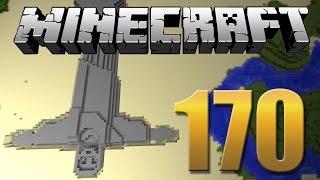 Cristo Redentor embaixo da Torre Eiffel - Minecraft Em busca da casa automática #170.
