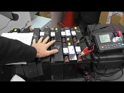 Measure Internal Impedance on Batteries using a Hioki 3554