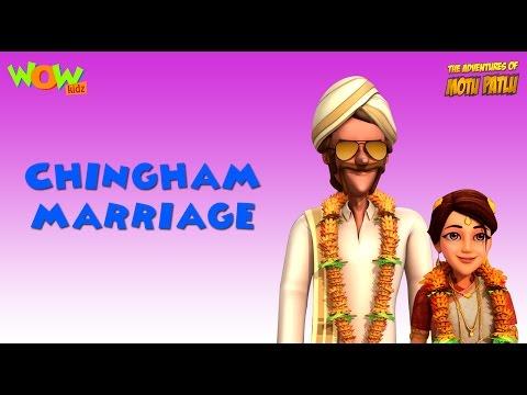 Motu Patlu Vacation Special - Chingam Marriage - As seen on Nickelodeon