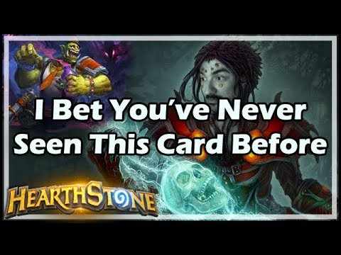 [Hearthstone] I Bet You've Never Seen This Card Before