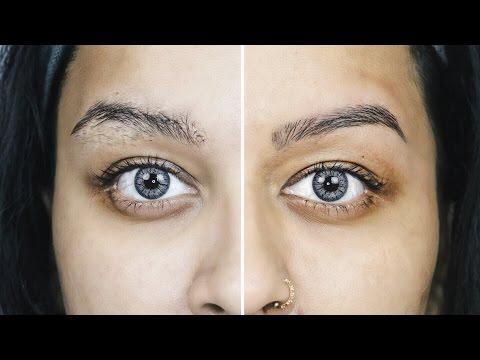 How I Wax & Shape My Eyebrows At Home| Sleek Wax | Quick & Easy | SaloniMaathur