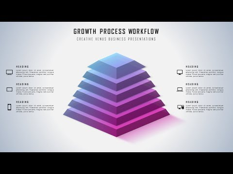 How To Design Pyramid Workflow Infographic for Business Presentation in Microsoft PowerPoint PPT