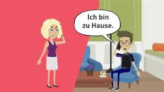 Download Deutsch lernen A2, B1 / indirekte Fragen / Wechselpräpositionen / Nebensätze ″weil″, ″wenn″, ″dass″ Video