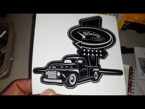 Old time garage mail call sticker pack. 👍👍
