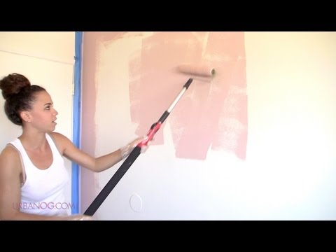 How to Paint a Room! Paint a Wall in 4 Simple Steps