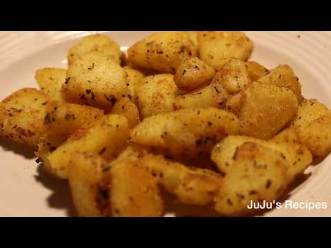 Quick And Easy Recipes: Tasty Homestyle Breakfast/Dinner Garlic Potatoes