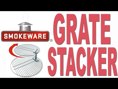 Smokeware's Stacked Grills for the Big Green Egg