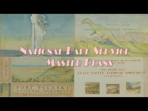 Discover the National Park Service Master Plans from the 1930s