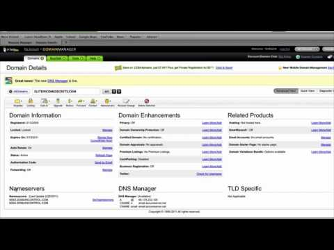 How to Point DNS from Godaddy to Hostgator
