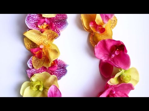How To Create A Hawaiian Necklace - DIY Style Tutorial - Guidecentral
