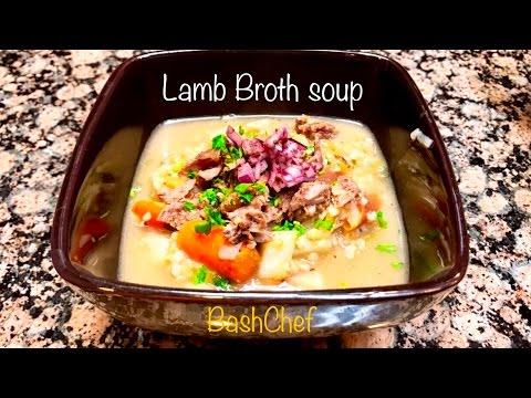 Lamb Broth soup