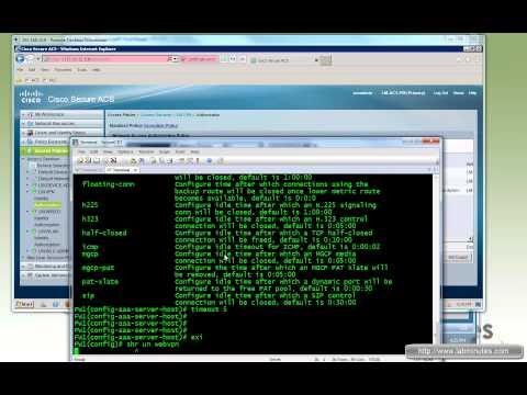 LabMinutes# SEC0096 - Cisco ACS 5.4 AnyConnect VPN RADIUS Authentication and Authorization