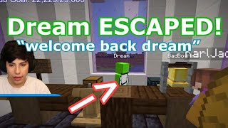 Dream ESCAPES PRISON but DIES just TO BE WITH GEORGE, SAPNAP, KARL, and BADBOYHALO *Dream SMP*(Lore)