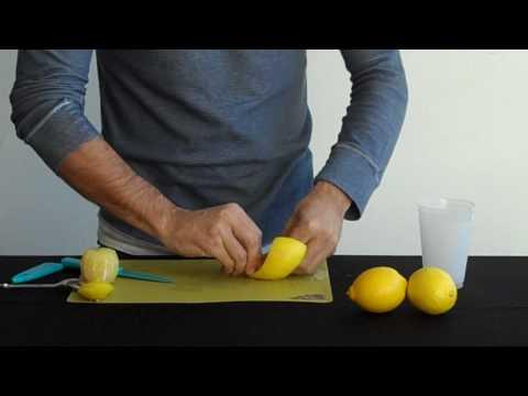Garnish Lemon Twists