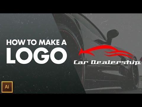 How to make a LOGO / Minimalist Car Logo