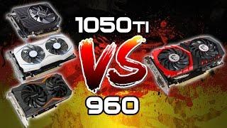 #22 Gtx1050Ti VS Gtx960 VS RX460  Zotac-Asus-Gigabyte-Msi (Benchmark Gaming)