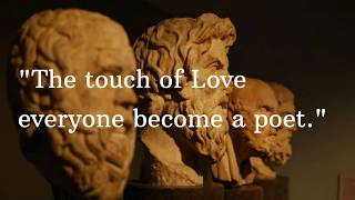 PLATO-Incredible life changing quotes
