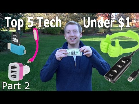 Top 5 Tech Under $1 with Shipping! Part 2