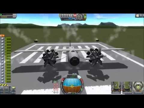 KSP Turbo-prop Plane - All Stock