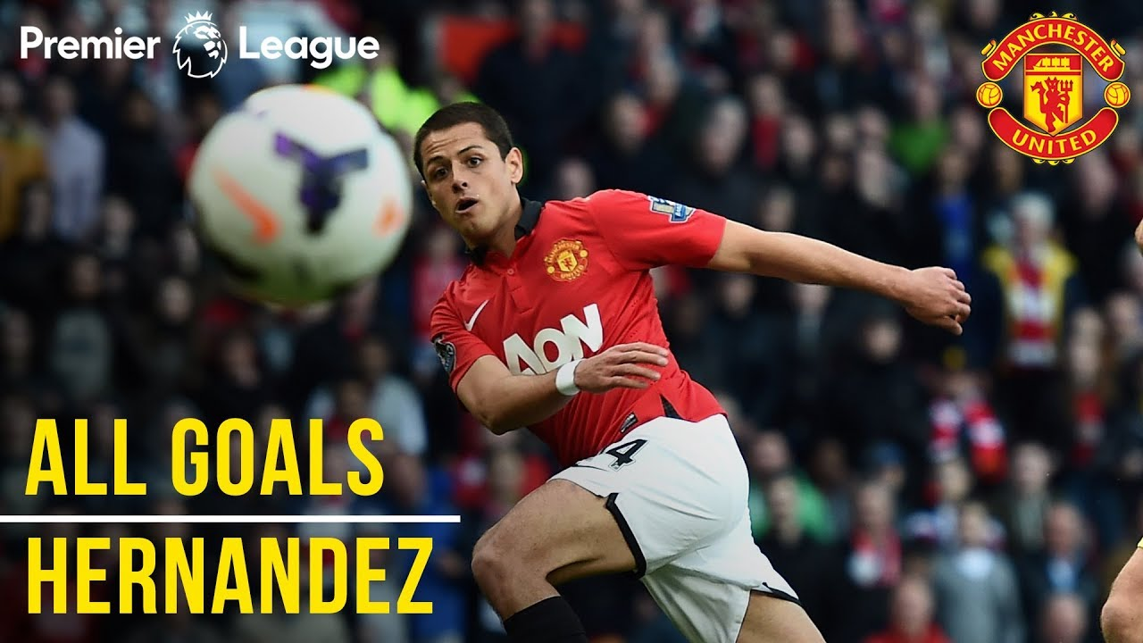 Chicharito | Javier Hernandez | All the Premier League Goals | Manchester United | Mexico WC 2018