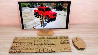 How to Make Cardboard Computer PC Windows