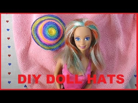 HOW: TO MAKE DOLL HATS QUICK AND EASY!!