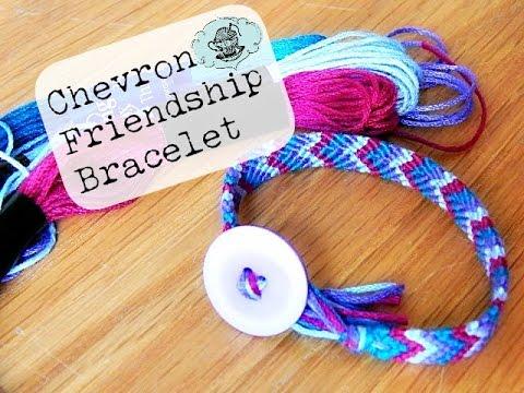 DIY Chevron Friendship Bracelet ¦ The Corner of Craft