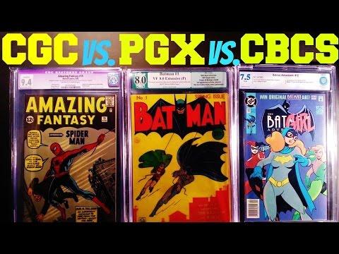 CGC VS. PGX VS. CBCS