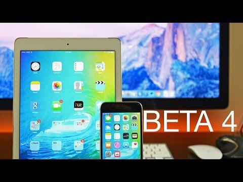 Apple iOS 9: Beta 4