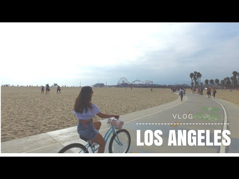 Los Angeles California VLOG , Santa Monica , Venice Beach, Hollywood, Beverly Hills Tour