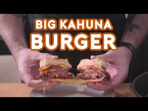Binging with Babish: Big Kahuna Burger from Pulp Fiction
