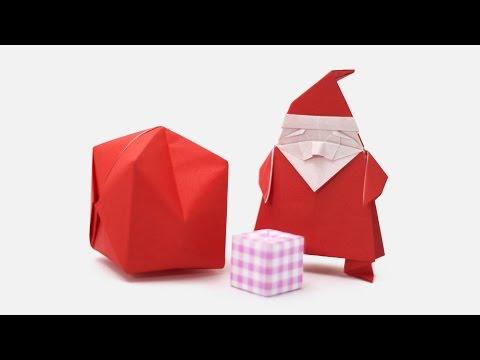 Origami Santa Claus (Jo Nakashima & Camila Zeymer)