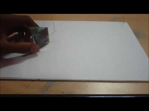 How to find refractive index of glass prism