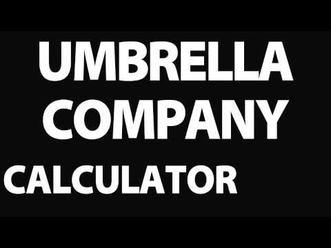 Calculator Company Umbrella - Umbrella Company Calculator